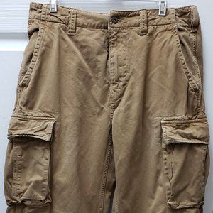 American Eagle Outfitter Brown Cargo Pants 32 x 34